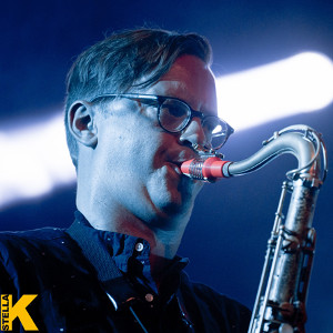 Chris Bullock - SNARKY PUPPY with his Syos saxophone mouthpiece