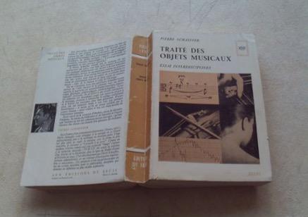 Traité des objets musicaux de Pierre Schaeffer