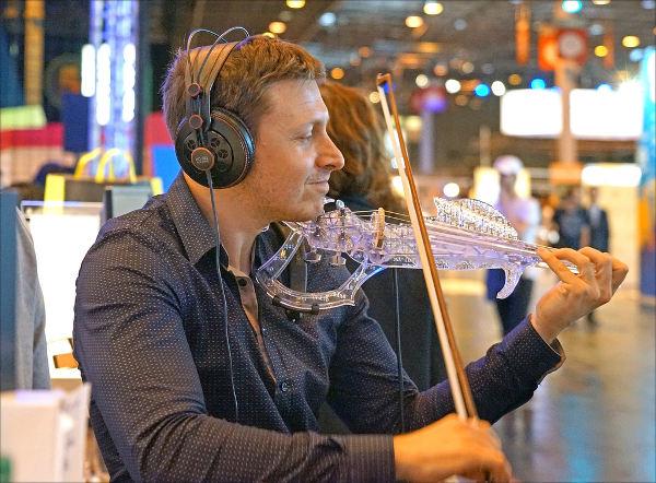 Le violon en impression 3D 3Dvarius