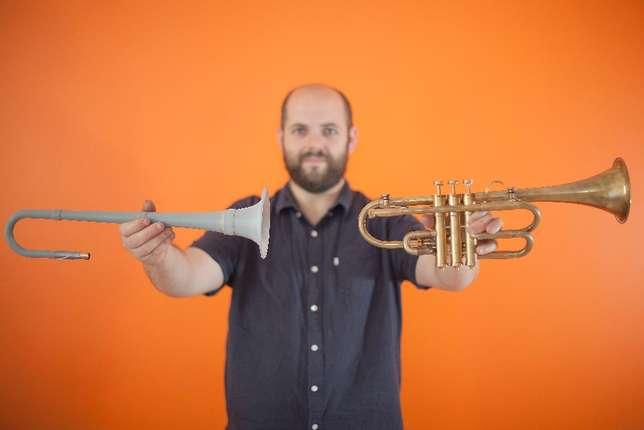 3D printed Wiss trumpet