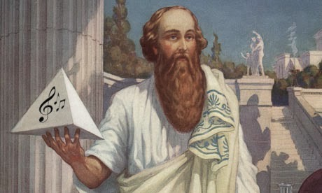 Pythagoras inventor of music acoustics