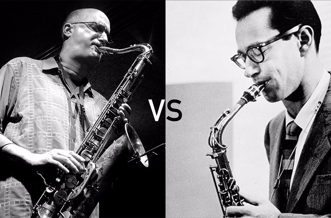 From Desmond to Brecker : the brightness of the saxophone tone