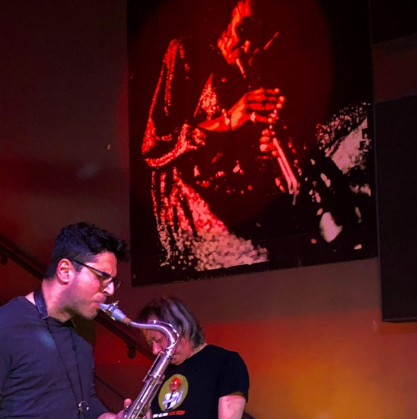 Ofer Assaf plays Syos on his tenor saxophone
