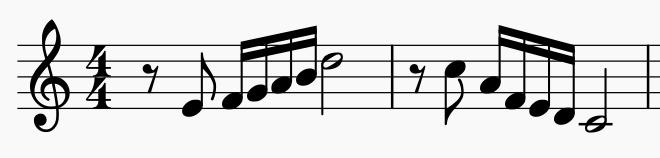 Melodic inversion motive