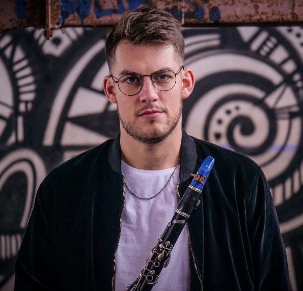 Yoann Boucher plays on a Syos clarinet mouthpiece