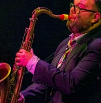 Dan Forshaw and his Syos tenor mouthpiece