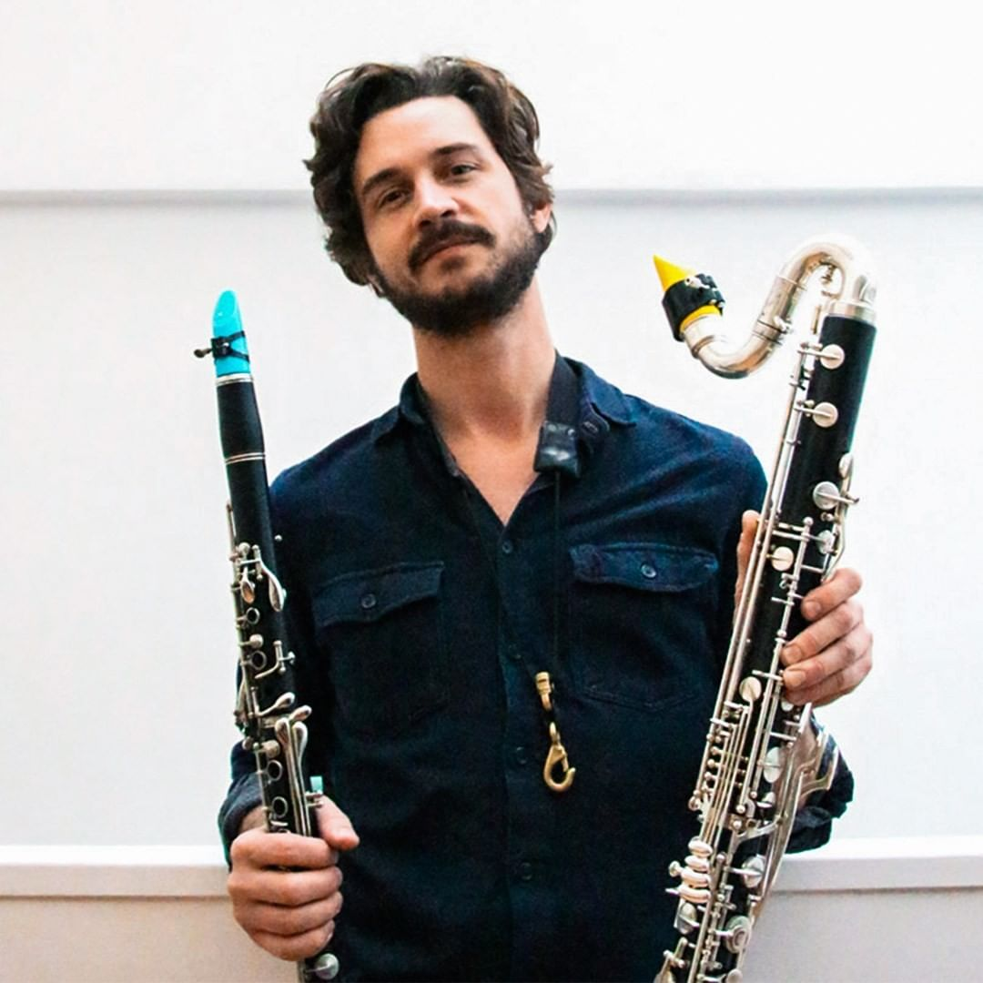 Robby Marshall plays a Syos mouthpiece for bass clarinet