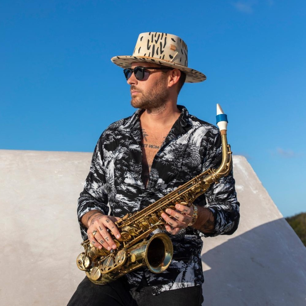 Jimmy Sax plays a Syos mouthpiece for alto saxophone