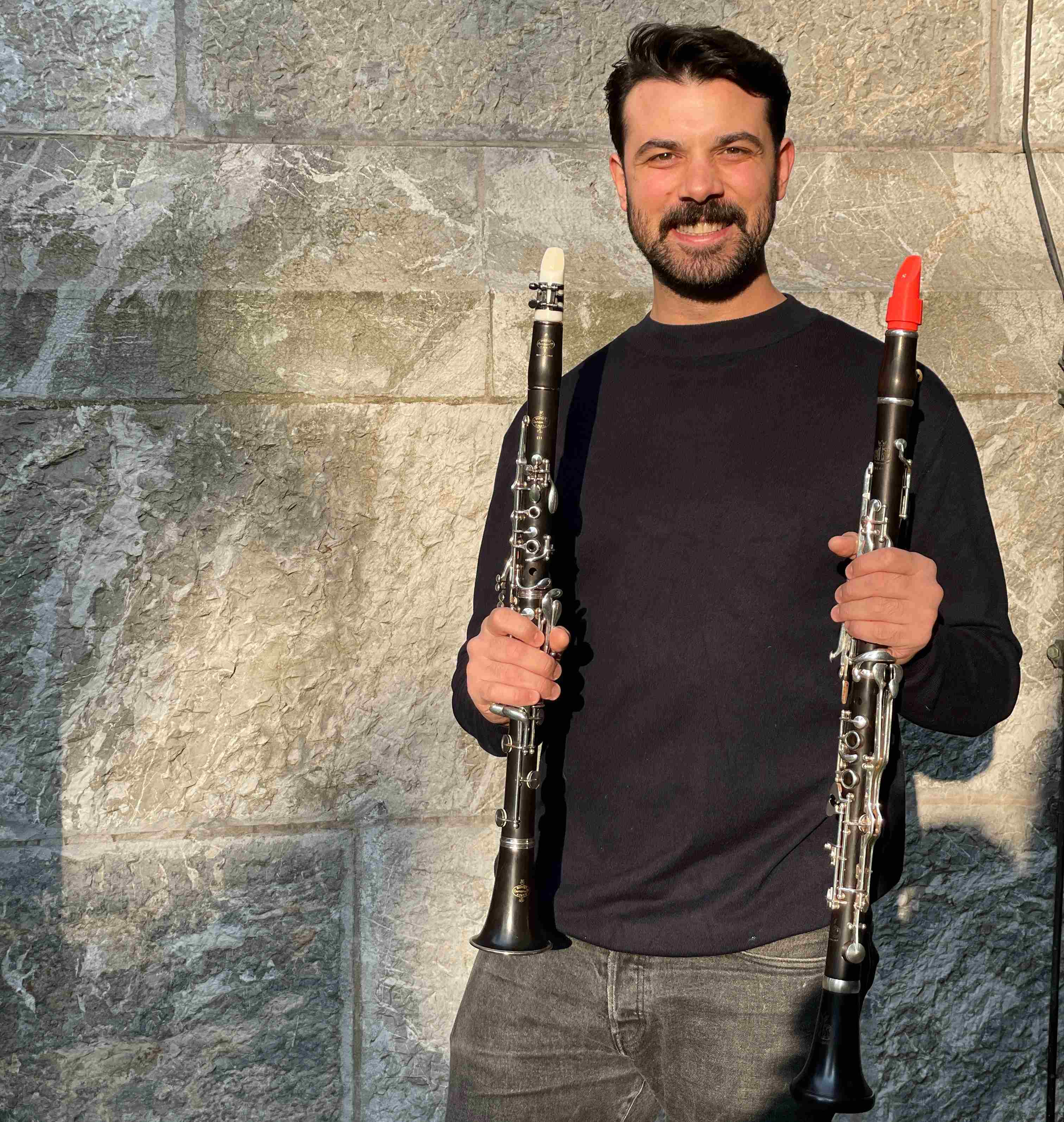 Gökhan Arslan and his Syos clarinet mouthpieces