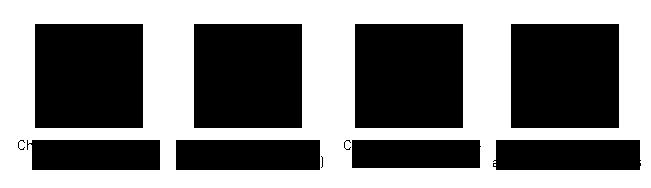 Exemples de formes et de dimensions de chambres