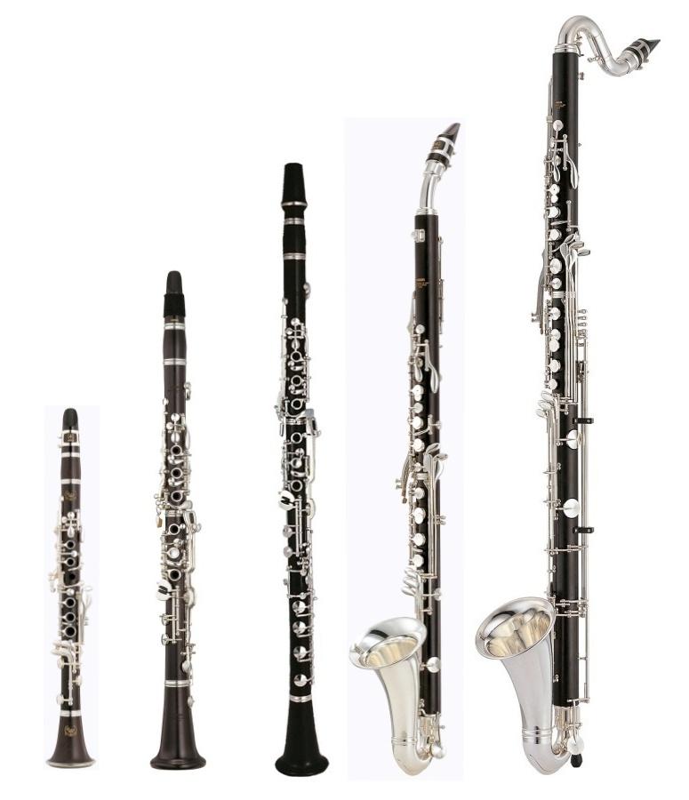 Most popular types of clarinet