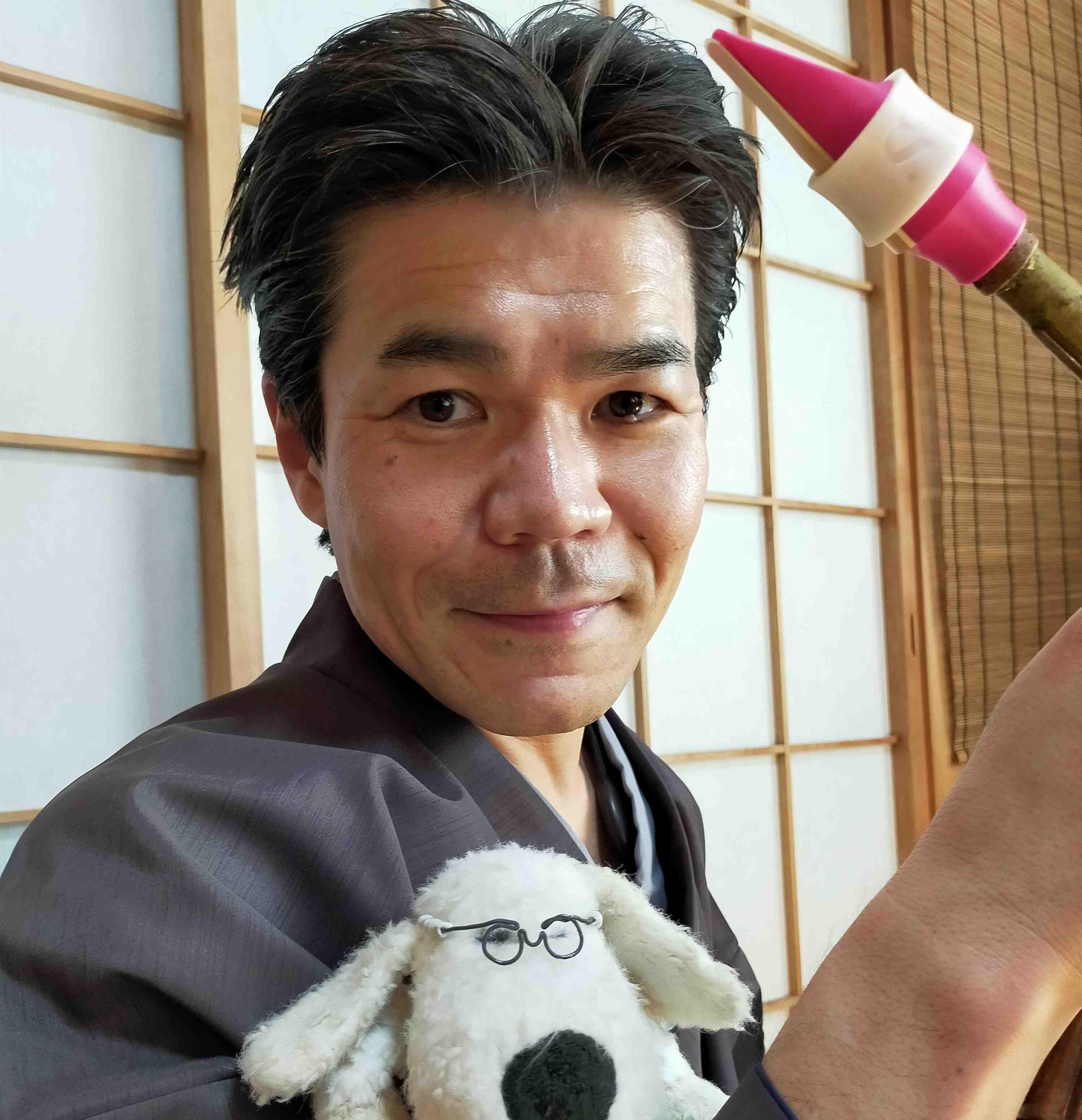 Yosuke Sato plays a Syos saxophone mouthpiece