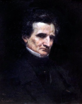 Hector Berlioz by Gustave Courbet