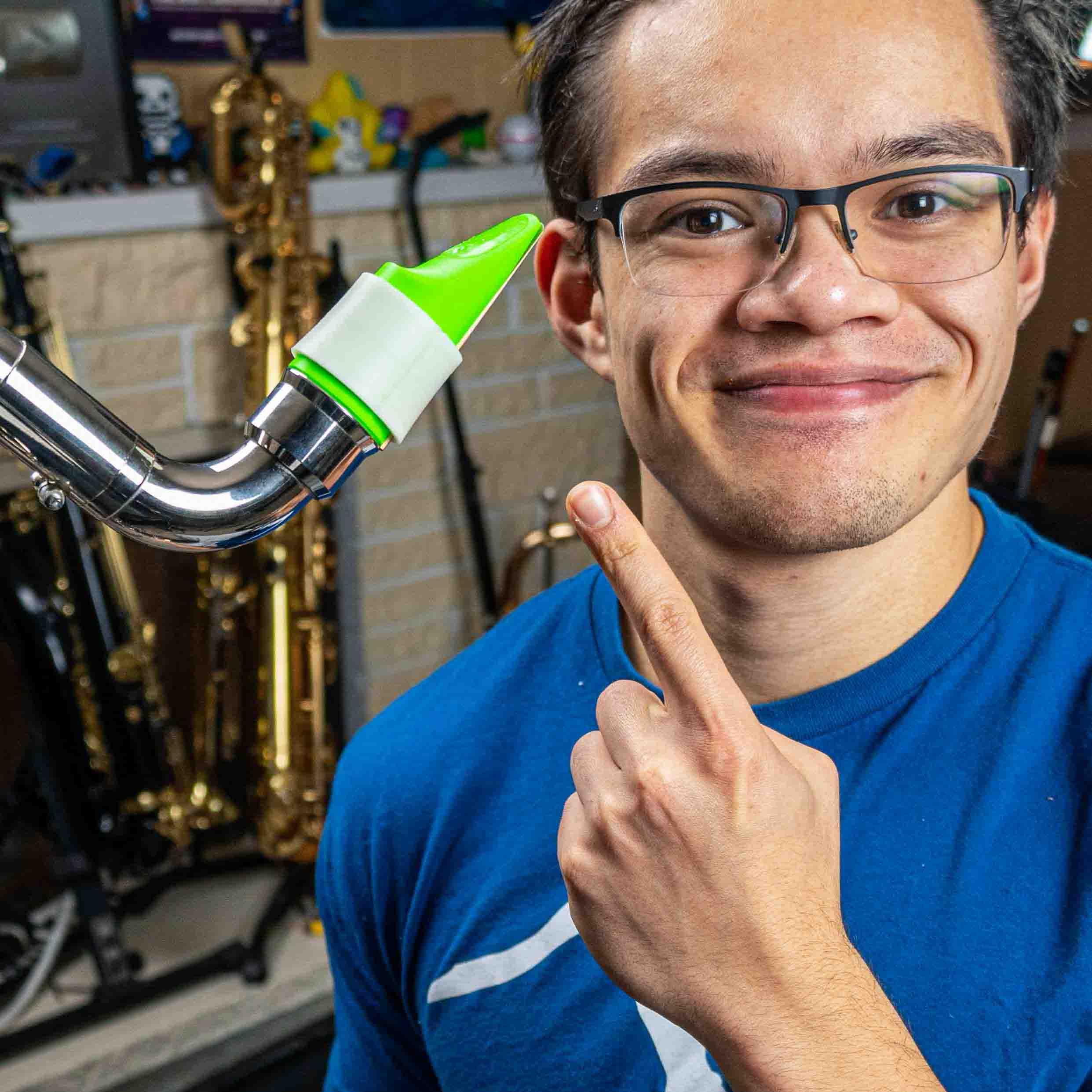Claros Eiene's Bb clarinet mouthpiece by Syos