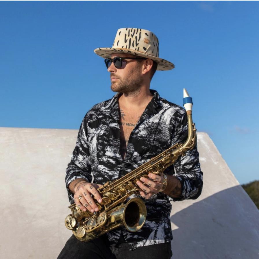 Jimmy Sax's alto saxophone mouthpiece by Syos