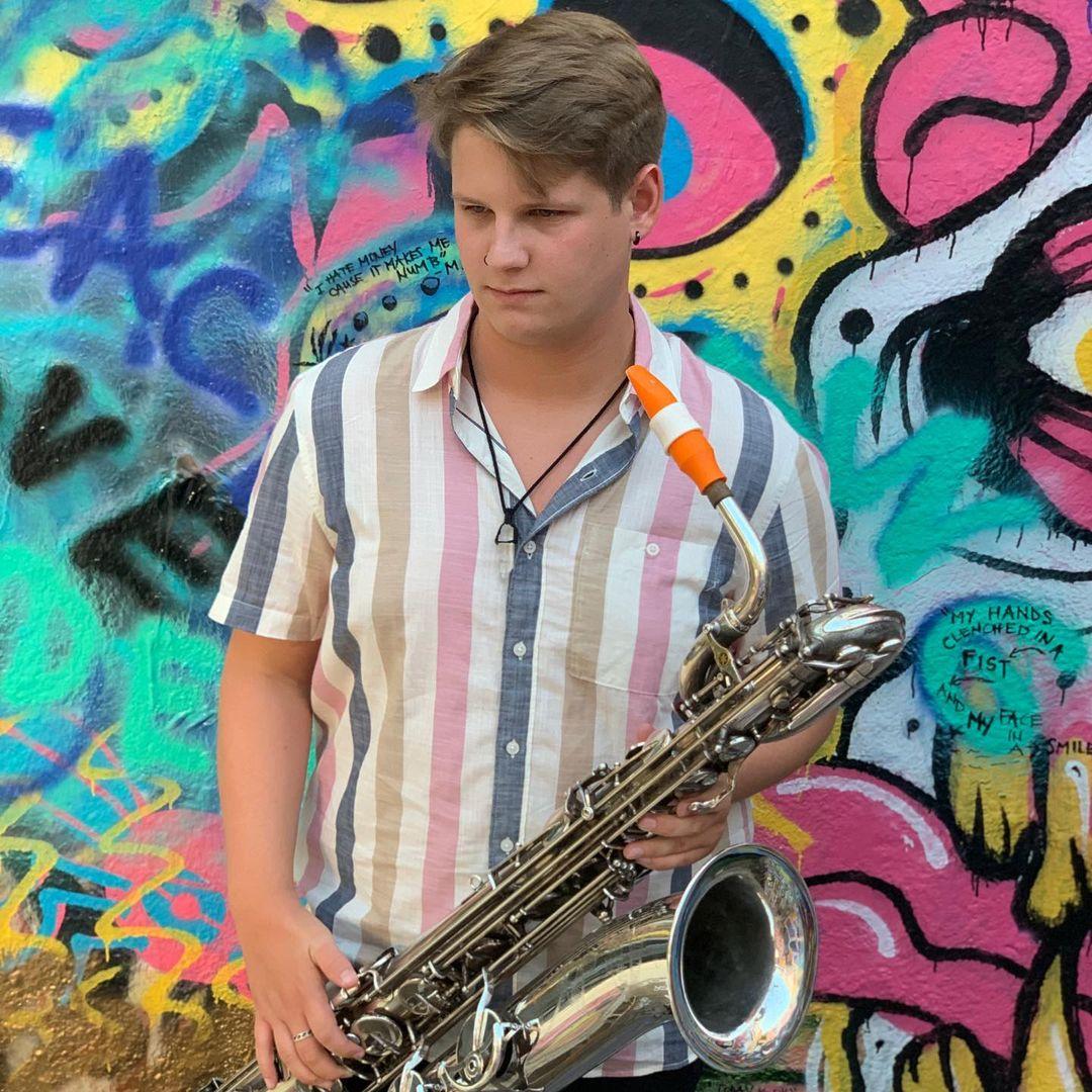 Joe Trahan's baritone saxophone mouthpiece by Syos